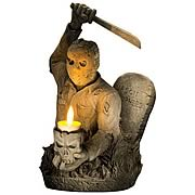 Friday the 13th Jason Voorhees Tombstone Candle Holder