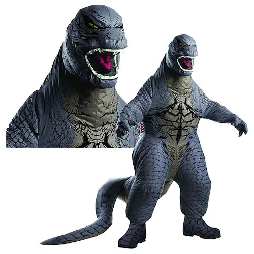 Godzilla Deluxe Adult Air-Blown Costume