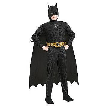 Batman Dark Knight Rises Deluxe Muscle Child Costume