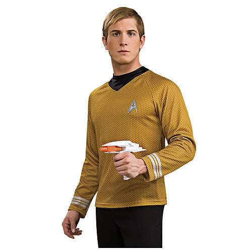 Star Trek Movie Deluxe Captain Kirk Gold Shirt