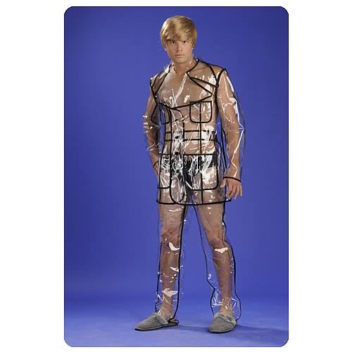 Bruno Movie Clear Vinyl Suit