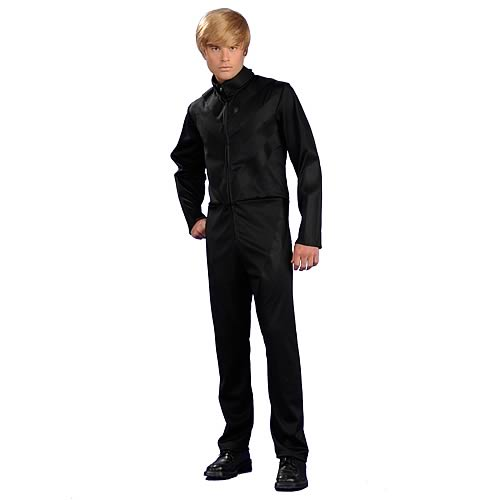 Bruno Movie Black Velcro Outfit