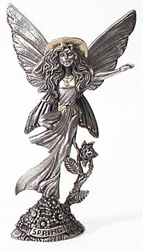 Pewter Spring Fairy