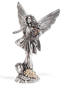 Pewter Summer Fairy