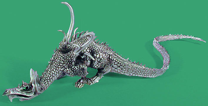 Pewter LOTR Fire Dragon