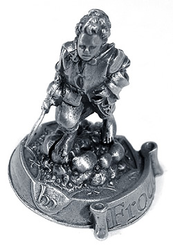 Lord of the Rings Pewter Frodo Baggins Figurine