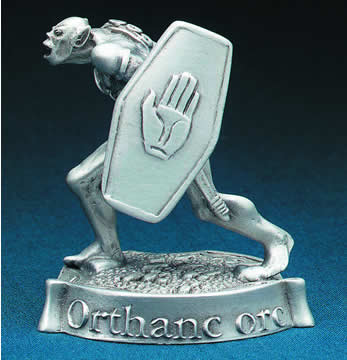 Pewter Orthanc Orc
