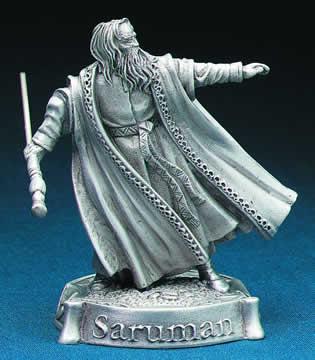 Pewter Saruman