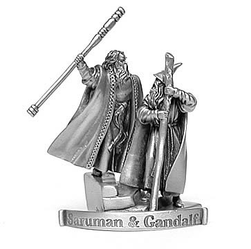 Pewter Gandalf & Saruman