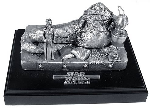 Pewter Ltd. Ed. Jabba`s Palace