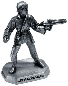 Pewter Luke Skywalker