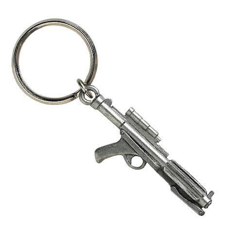 Star Wars Blaster Rifle Pewter Keychain