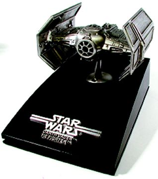 Pewter Ltd. Ed. Vader TIE Fighter