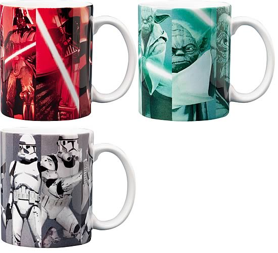 Star Wars Picture Grid Coffee Mug Set
