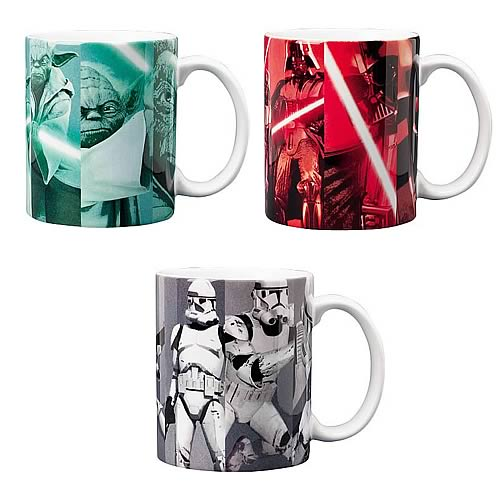 Star Wars Grid Mug Value Collection