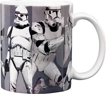 Star Wars Clone Trooper Picture Grid Mug