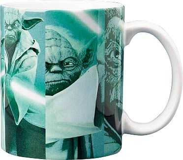 Star Wars Yoda Picture Grid Mug