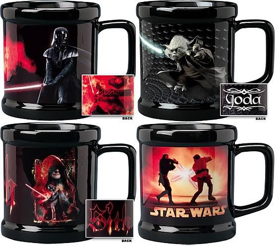 Star Wars Epsiode III Coffee Mug Set