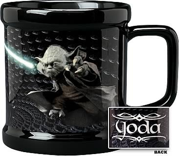 Star Wars Yoda in Senate Mug
