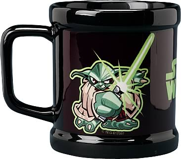 Star Wars Yoda Cartoon Mug