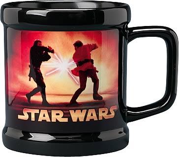 Anikan vs. Obi-Wan Mug