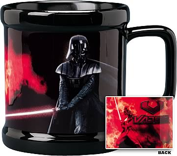 Star Wars Darth Vader Flames Mug