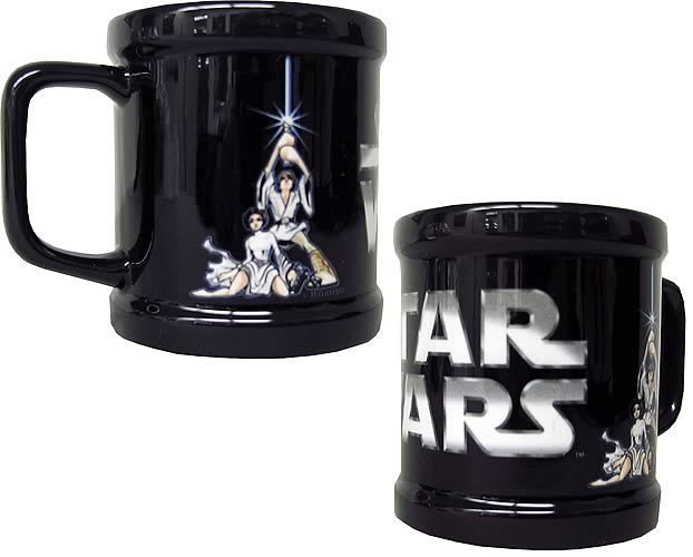 Star Wars Luke Skywalker and Princess Leia Mug