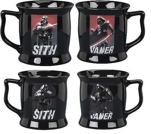 Star Wars Darth Vader Color Changing Sculpted Mug