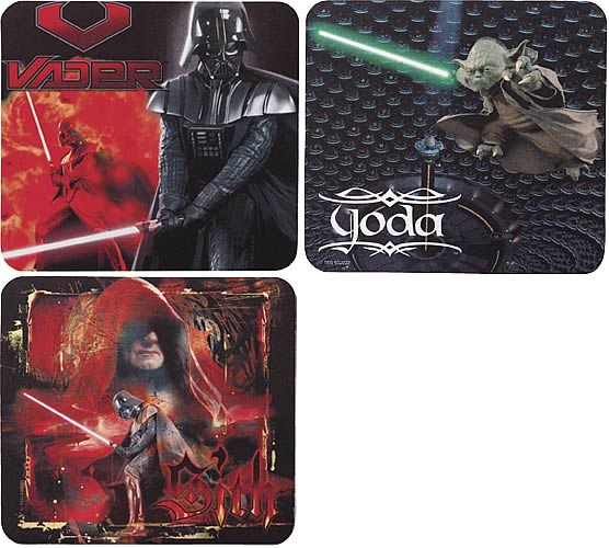 Star Wars Episode III Mousepad Set