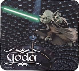 Star Wars Yoda in Senate Mousepad