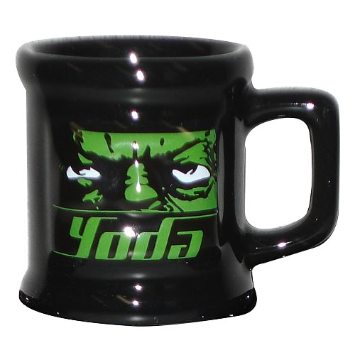 Star Wars Yoda Mug Shot
