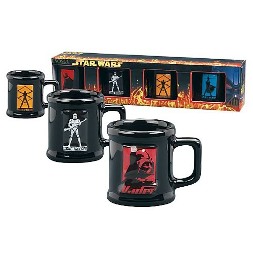 Star Wars Mug Shots 4-Pack