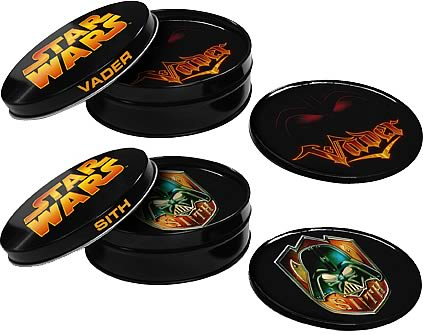 Star Wars 4-inch Coaster Set