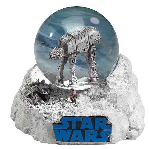 Star Wars Battle of Hoth Water Globe