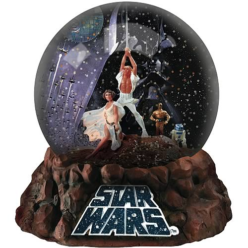 Star Wars Classic A New Hope Commemorative Water Globe