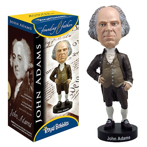 John Adams Bobble Head