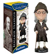 Benjamin Franklin Bobble Head