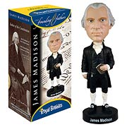 James Madison Bobble Head