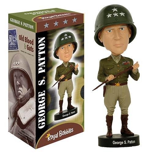 General George Patton Bobble Head