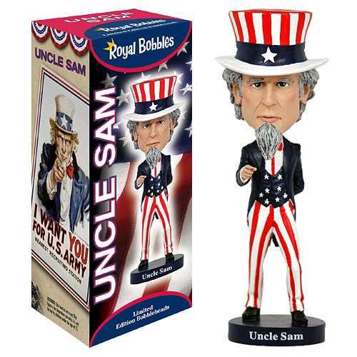 Uncle Sam Bobble Head