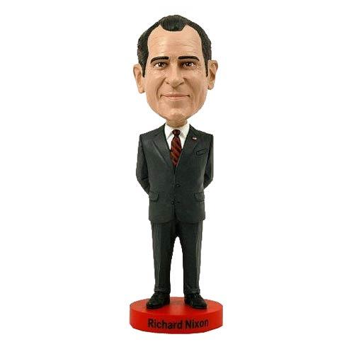 Richard Nixon with Campaign Button Bobble Head