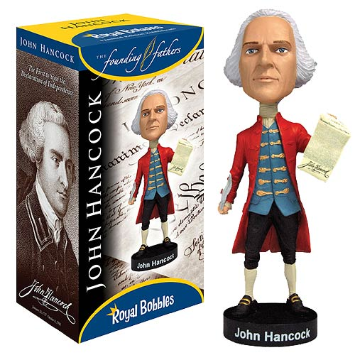 John Hancock Bobble Head