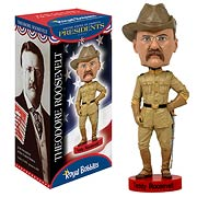 Teddy Roosevelt Bobble Head