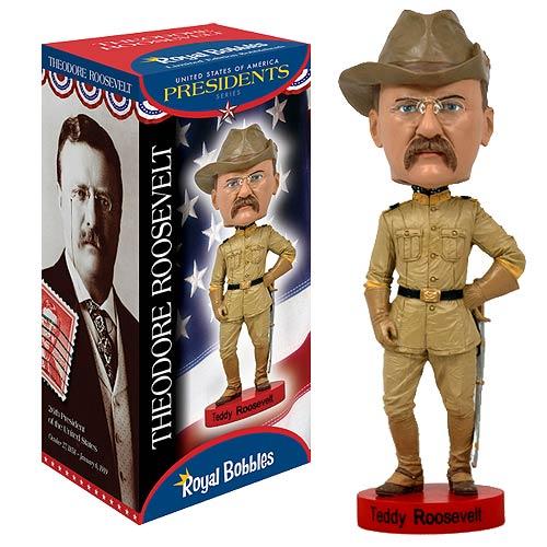 Teddy Roosevelt Bobble Head