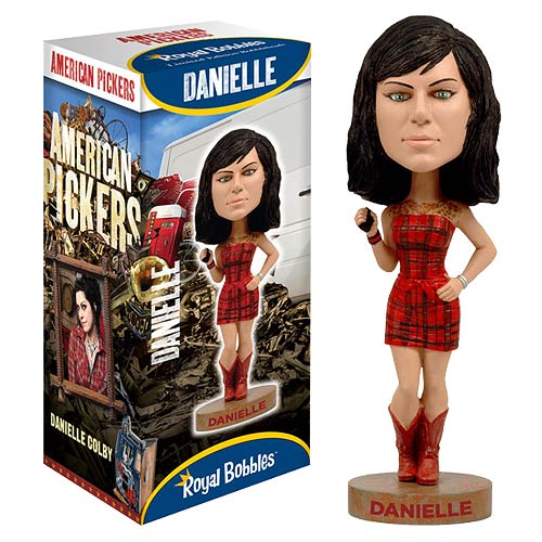 American Pickers Danielle Colby-Cushman Bobble Head