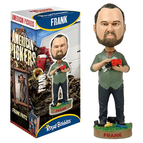American Pickers Frank Fritz Bobble Head