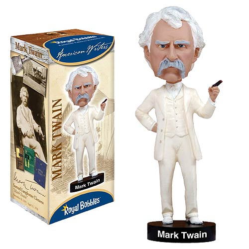 Mark Twain Bobble Head