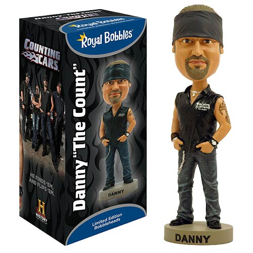 Counting Cars Danny the Count Koker Bobble Head