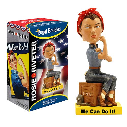 Rosie the Riveter Bobble Head