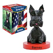 Barney Bush Bobble Head